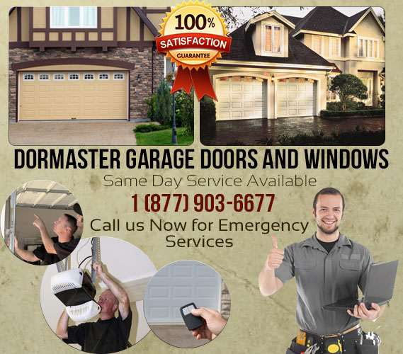 Dormaster Garage Doors & Windows: Emergency Same Day Service